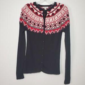Boston Proper Medium button down Cardigan Sweater